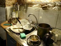 vuile keuken